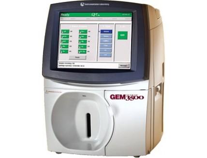 Анализатор газов крови и электролитов Gem Premier 3500 ( IL Werfen, США )